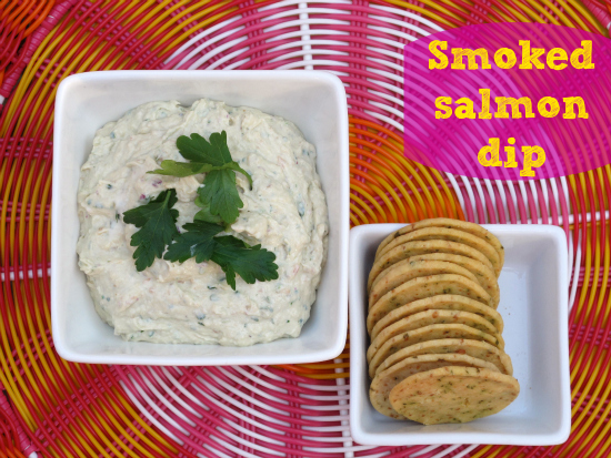 Recipe: Smoked salmon dip