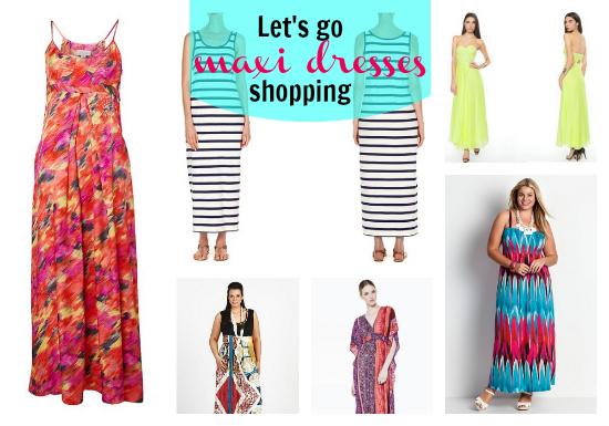 Summer 2012 maxi dresses