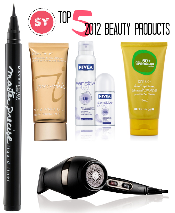 Styling You Top 5 Beauty Products 2012