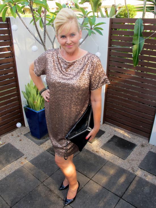 Model and Me: Leona Edmiston Ruby Meredith dress