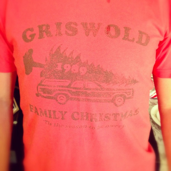 Griswold Merry Christmas t-shirt