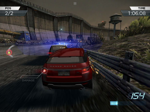 Father and son iPad time: thanks to the EA Games iPad app sale | Need for Speed