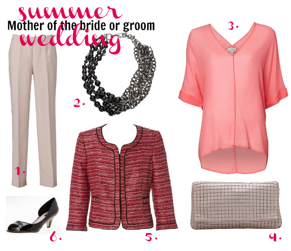 Summer wedding | mother of the bride/groom | the pants outfit