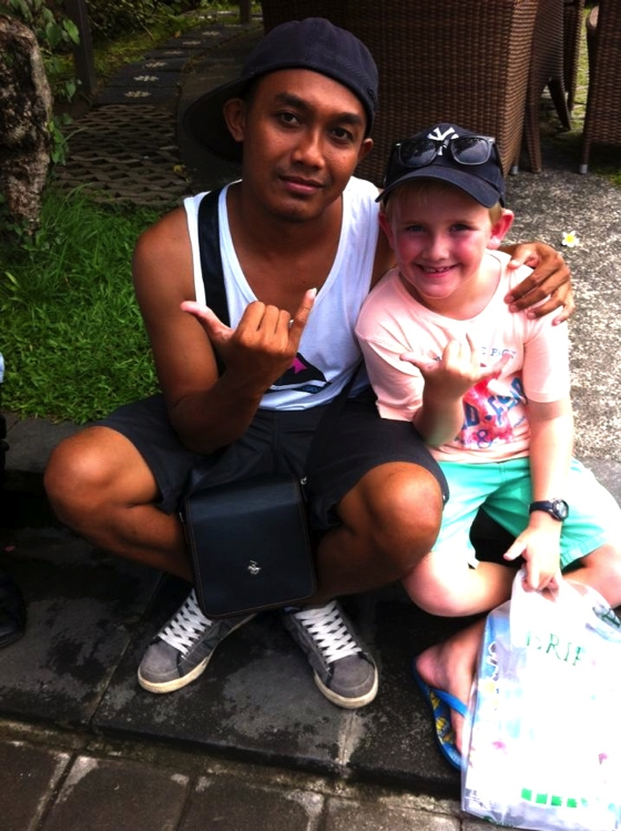 Our driver, Dewa, was such a help for us getting around the island of Bali