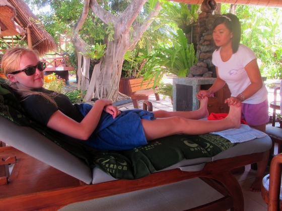 Reflexology massage | Water Bom Park, Bali