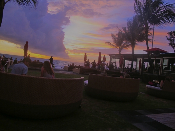 Ku De Ta on sunset, Bali