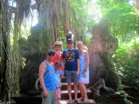 Sacred Monkey Sanctuary, Ubud, Bali