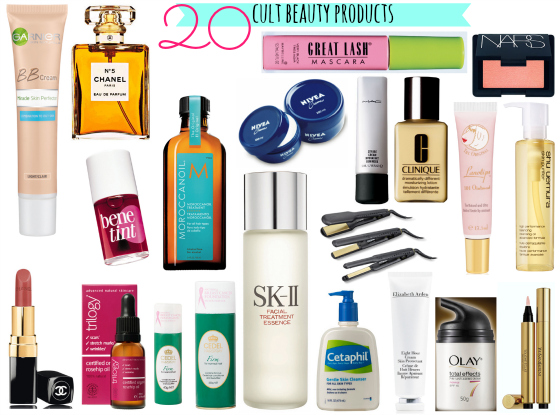 20 cult beauty products
