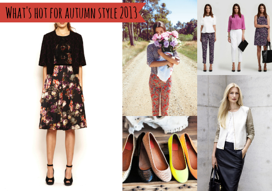What's hot for autumn style 2013