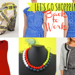 Let's go shopping: Back to work