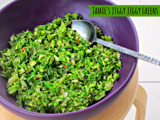 Jamie Oliver's Jiggy Jiggy Greens