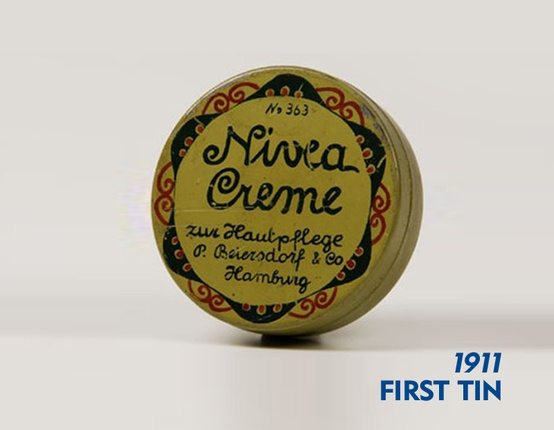 NIVEA Creme - first tin