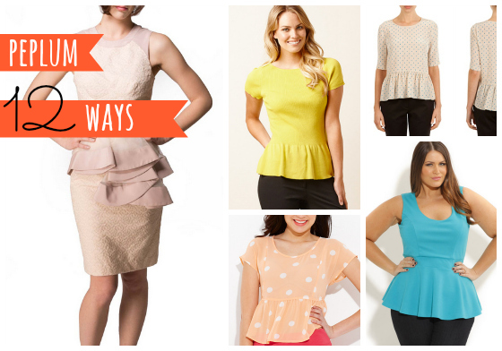 Peplum 12 ways