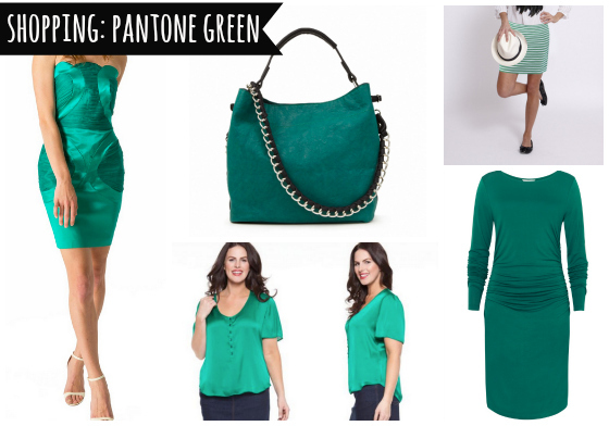 Shopping Pantone Green