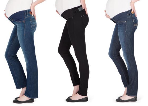 Nina Proudman pregnancy style