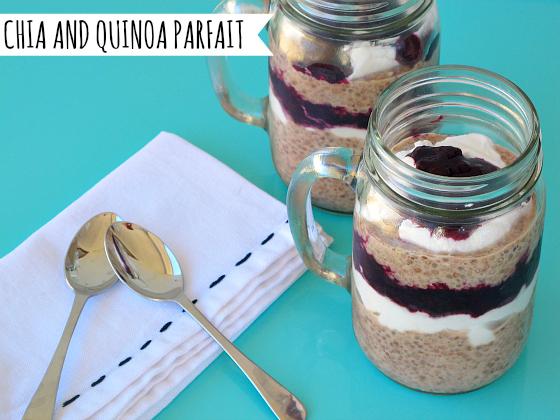 Sarah Wilson's Chia and Quinoa Parfait | I Quit Sugar #iqs