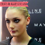 How to create an aggressive lash