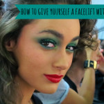 How to give yourself a facelift with blush