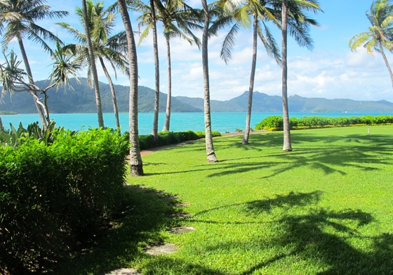 Hayman Island, beachside cabana massage