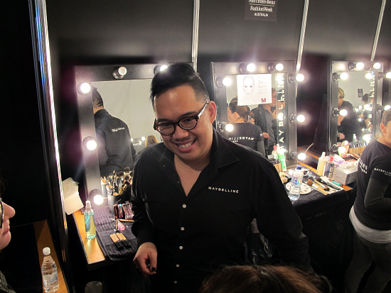 Maybelline NY Australia Makeup director Nigel Stanislaus