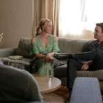 Nina Proudman (Asher Keddie) and Patrick Reid (Matthew Le Nevez)