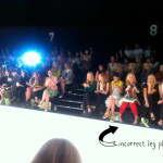 How not to sit front row at fashion week