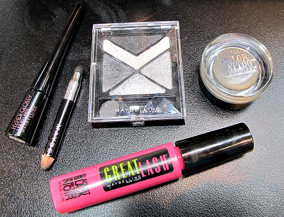 Maybelline NY smokey eye essentials