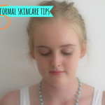 5 school formal skincare tips