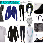 What to wear to work | winter smart casual | capsule wardrobe