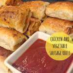 Recipe: chicken and vegetable sausage rolls