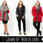 How to create sophisticated winter outfits | curvy