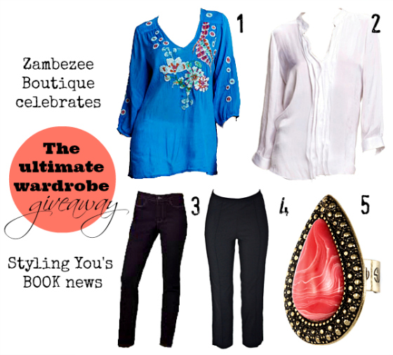 Zambezee and Styling You Ultimate Wardrobe giveaway | Win these 5 pieces valued at more than $1100