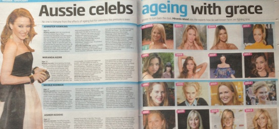 Ageing gracefully Sunday Tele