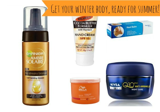 Get your winter body ready for summer