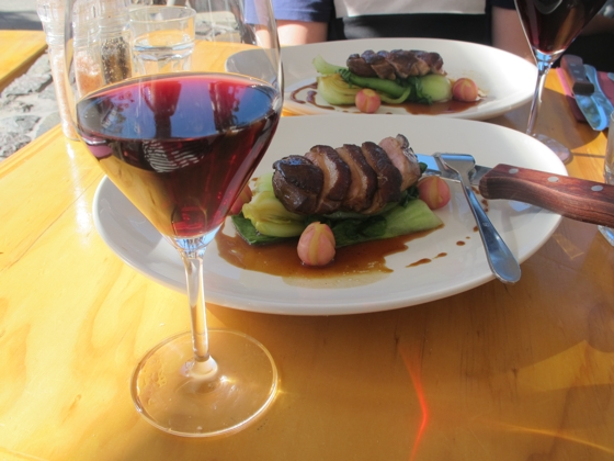 Cloud Bay Pinot Noir Duck Trail | Crispy skinned twice cooked duck | Lot 104 Mooloolaba