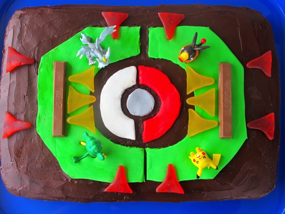 Pokemon Stadium Cake | kids birthday cakes
