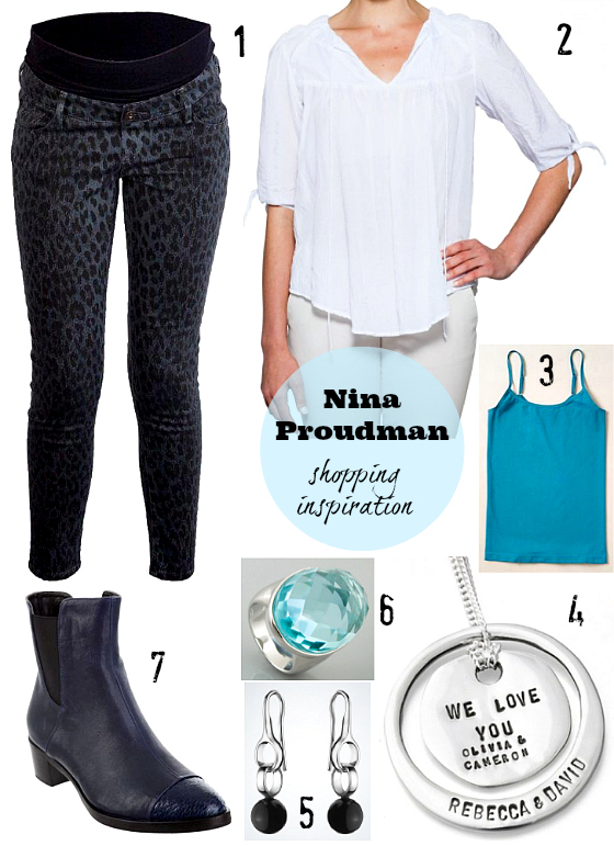 Nina Proudman maternity shopping inspiration