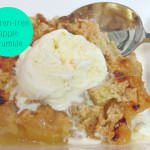 gluten-free apple crumble