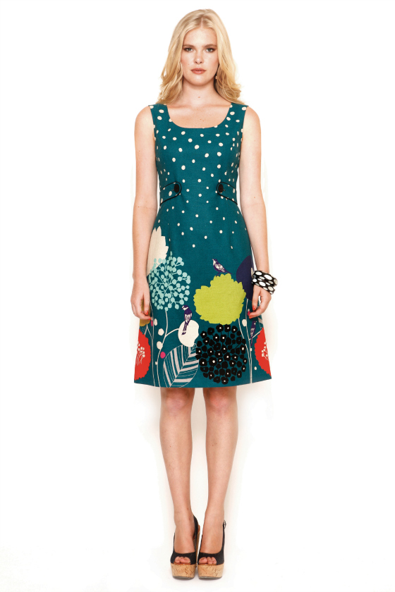 Maiocchi Bye Bye Birdie dress | spring-summer 2013-14