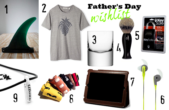 Father's Day 2013 wishlist