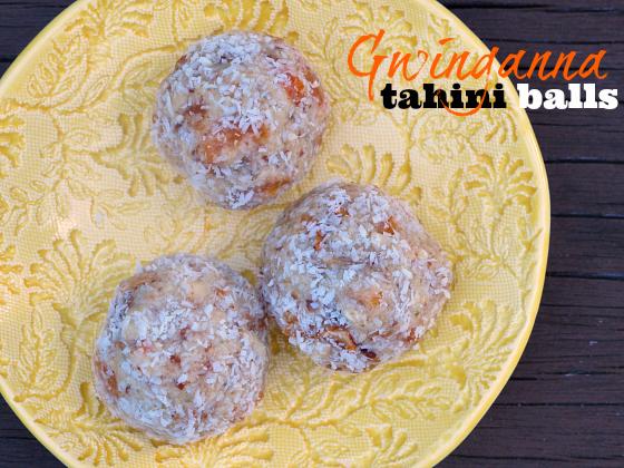 Gwinganna tahini balls | Gwinganna lifestyle retreat