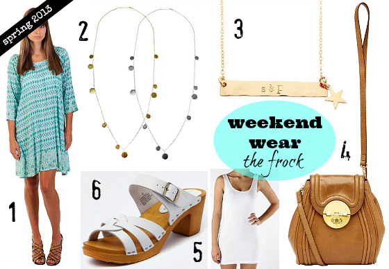 Spring 2013 wardrobe essentials | Weekend and casual wear | frocks