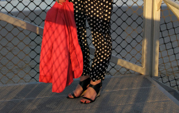 FEATURED The Model and Me Sportscraft polka dot pants