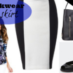 FEATURED spring wardrobe essentials workwear skirt