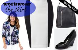 FEATURED spring wardrobe essentials workwear skirt