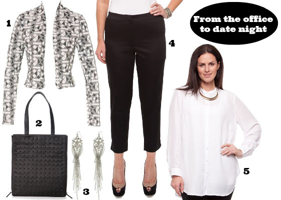 From the office to date night outfit
