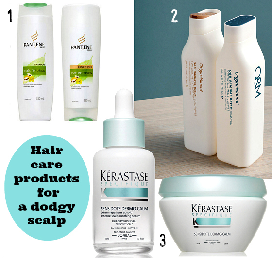 Hair products for psoriasis