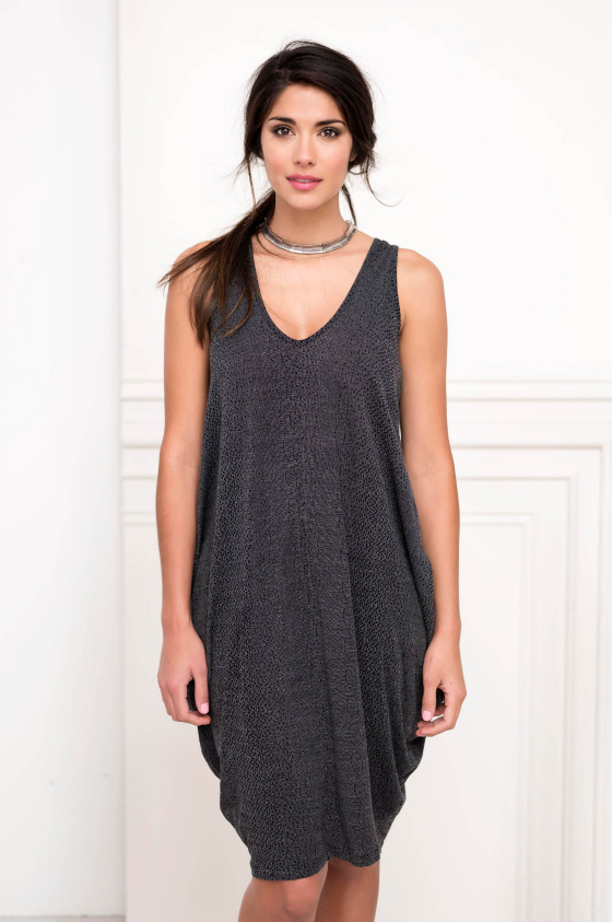 Metalicus Faltered Tank Dress spring 2013