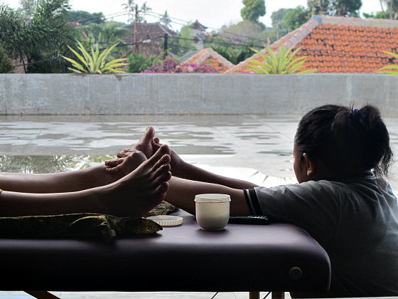 In-villa massage Bali