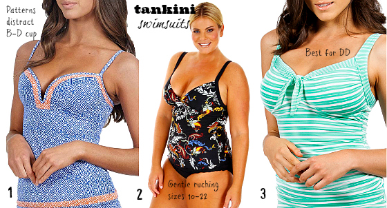 Swimwear 2013 tankinis | how to feel good in a swimsuit | resort week